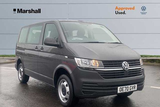 Volkswagen Shuttle S SWB 110 PS 2.0 TDI 5sp Manual - T6.1 - 8 SEATS - PARKING SENSORS
