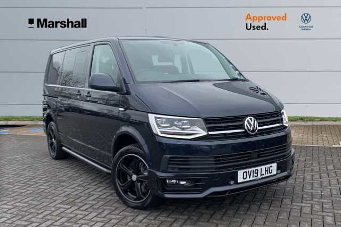 Volkswagen Transporter Kombi 2.0BiTDI 204PS T32 SWB DSG - NO VAT - SPORTLINE KIT - CUSTOMER LEATHER